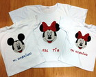 Camiseta Baby Look/Infantil Minnie Mouse