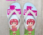 Chinelo Festa Infantil LalalooPsy Crumbs