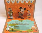 Convite Maleta Mickey Safari Pop-up