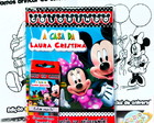 Kit Colorir Minnie e Mickey Club House
