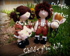 Molde Casal child's play dolls
