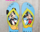 Chinelo Infantil Mickey Personalizado