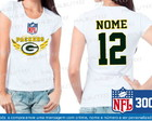 Baby Look Green Bay Packers NFL Futebol