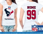 Baby Look Houston Texans NFL Futebol
