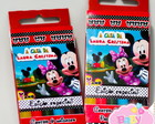 Giz de Cera Mickey e Minnie Club House