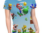Baby Look Feminina Mario Bros MD02