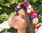 COROA DE FLORES BEACH WEDDING