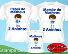 Kit Camisetas Aniversario Time Cruzeiro