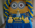 Banner Painel Decorativo Minions