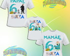 Kit Camiseta Frozen Fever