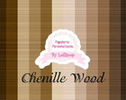 "Papel Digital ""Chenille Wood"" - Madeira"