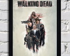 Poster com moldura The Walking Dead
