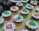 Mini Cup cakes Juninos