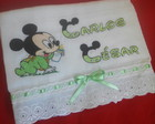 Fraldas Bordadas Mickey Mouse
