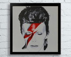 Quadro retro David Bowie