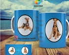 caneca pet cao airedale terrier