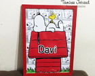Quadro decorativo - Snoopy