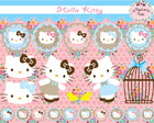 Kit Digital Hello Kitty