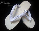 Chinelo Flor Strass