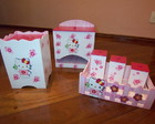 Kit Higiene em MDF - Hello Kitty
