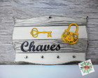 Placa Chaves Cadeado 04