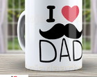 Caneca I Love Dad - Pai - Papai 1076