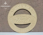 Placa decorativa Ford Vintage MDF cru