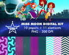 Kit Digital Miss Moon