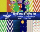 Kit Digital Floogals