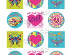 Topper Doces Digital Hippie Chic