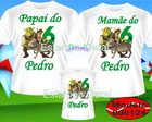 Kit Camiseta Aniversario Shrek c/3
