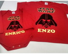 Camiseta + body personalizado Star Wars