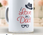 Caneca I Love Dad - Papai 784