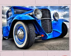 Placa Decorativa Vintage Cars PVC 1mm