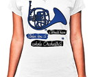 BABY LOOK - BLUE FRENCH HORN