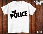 Camiseta The Police Rock Banda Cantor