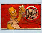 Placa Decorativa Vintage Beer PVC 1mm