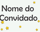 Nome do convidado