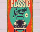 Placa Decorativa Vintage PVC 1mm Poster