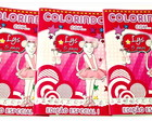 Revista de colorir Angelina Ballerina