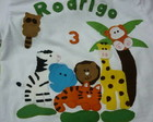 Camiseta Infantil Safari