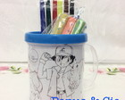Kit caneca de pintar Pokemon