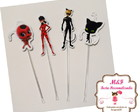 Toppers Miraculous e Ladybug