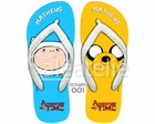 Sandália Adventure Time Personalizada