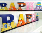 Letras Decorativas Backyardigans (MDF)