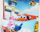 Kit mochilas + Almofadinha Super Wings 1