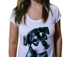 Camiseta Feminina Pets Dog Black