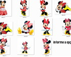 APLIQUE/TOPPER MINNIE VERMELHA