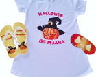 kit pijama halloween