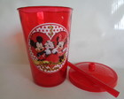 Copo c/ Canudo 800ml Mickey e Minnie 5